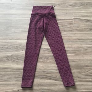 NWT DYI Quilted Pocket Legging
